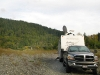 free boondocking on Jerrys Flats, Gold Beach OR