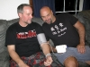 Jim and Randy test blood pressure