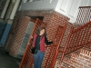 Rene at old Haight apartment, 29 Belvedere