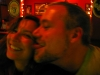 Rene and Jim at the Gold Cane in the Haight, where they met