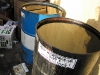 Waste Vegetable Oil Collection Barrels