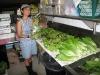 06. Preparing fresh organic lettuce mix and Romaine