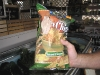 03. Don't panic. It's organic! Tree frog on the chips.