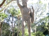 Seminole Indian Statue at the Fountain of Youth