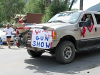 Lake City Colorado Fourth of July Parade Gun Show