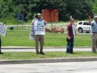 Arkansas Truck Stop Preachers Protest Rock Festival
