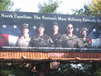 ncbillboard1.jpgNorth Carolina is a Military State