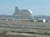 Marfa Texas Naval Tethered Aerostat Radar