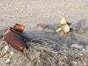 Old Unexploded Ordnance in Slab City Desert Sand