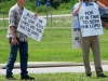 Arkansas Truck Stop Preachers Protest Rock Festival