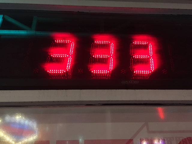 Heart Attack Grill Scale Fremont Street Las Vegas, NV