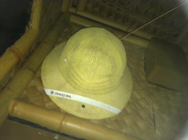 Hunter S. Thompson's Desert Inn Pith Helmet