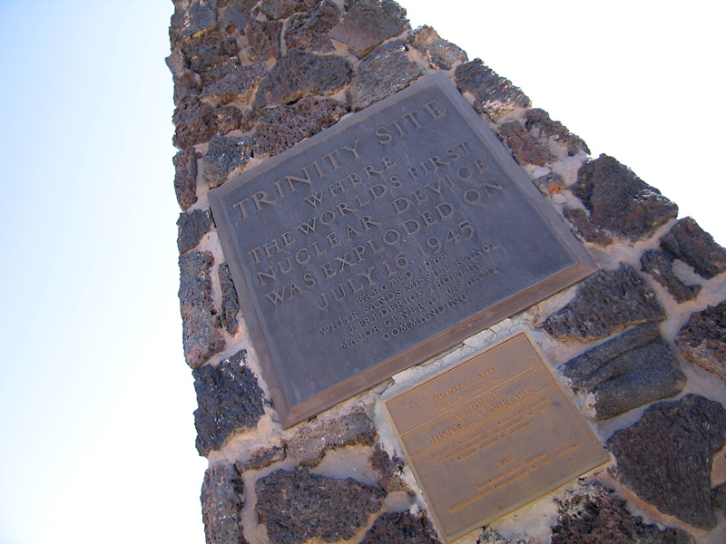 Trinity Test Site Monument New Mexico