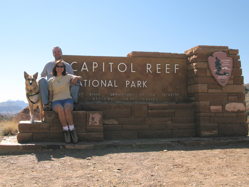 Road Trip Stops at Capitol Reef National Park