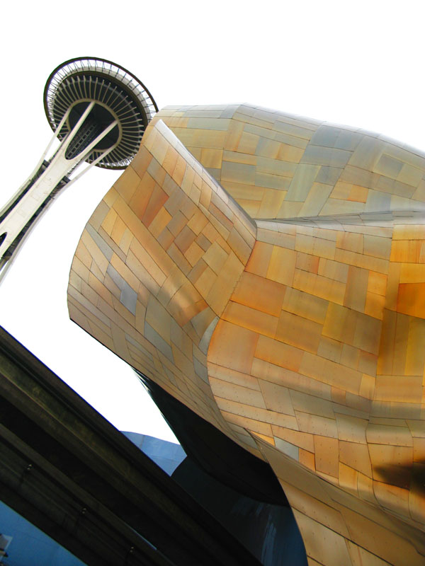 Experience Music Project Gehry architecture Seattle