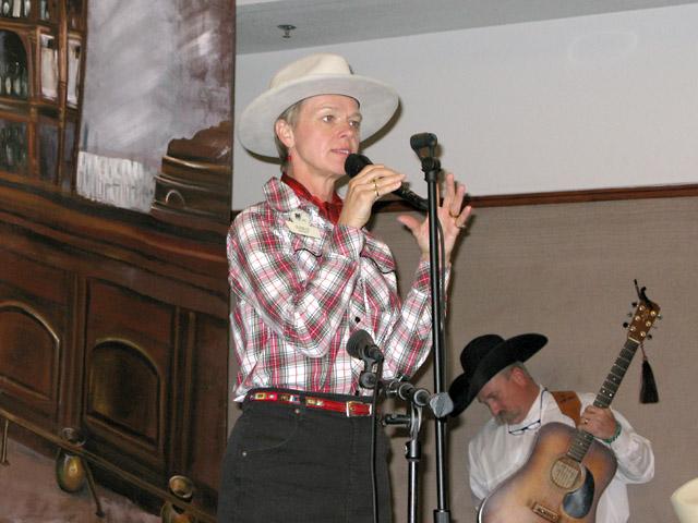 Doris Daley Cowboy Poetry Festival Alpine Texas