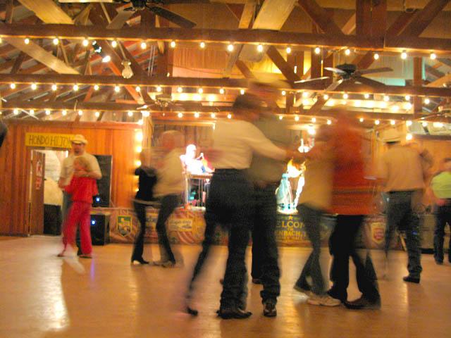 Geronimo Trevino Plays at Luckenbach Dance Hall