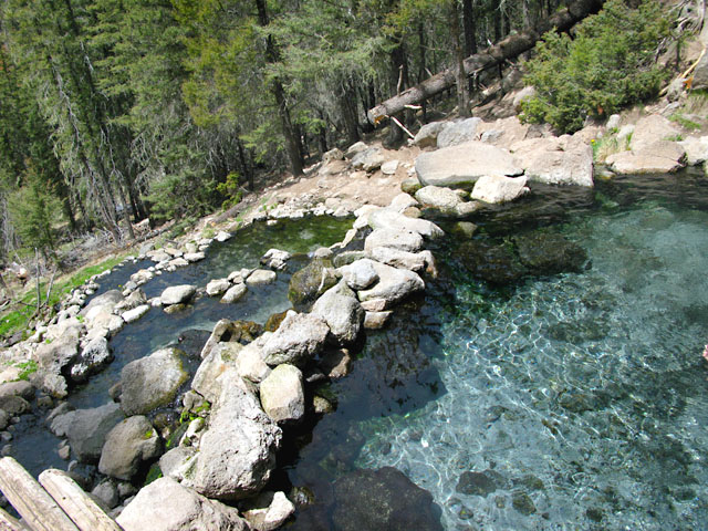 Secluded San Antonio Hot Springs New Mexico