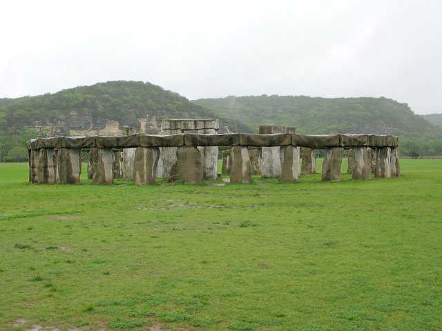 Stonehenge II in Hunt, Texas
