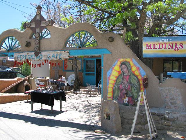 Medina's Cafe de Plaza El Portrero Chimayo, NM
