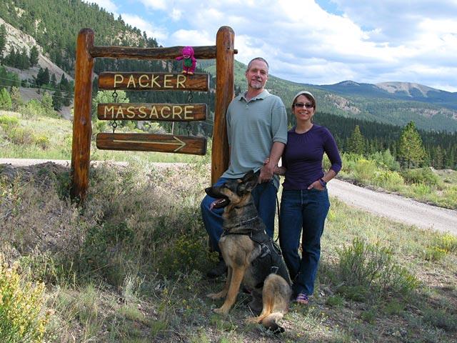 Alferd Packer Masacre Site Lake City, CO
