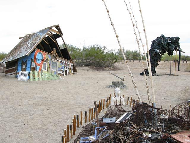 East Jesus Art Camp Slab City