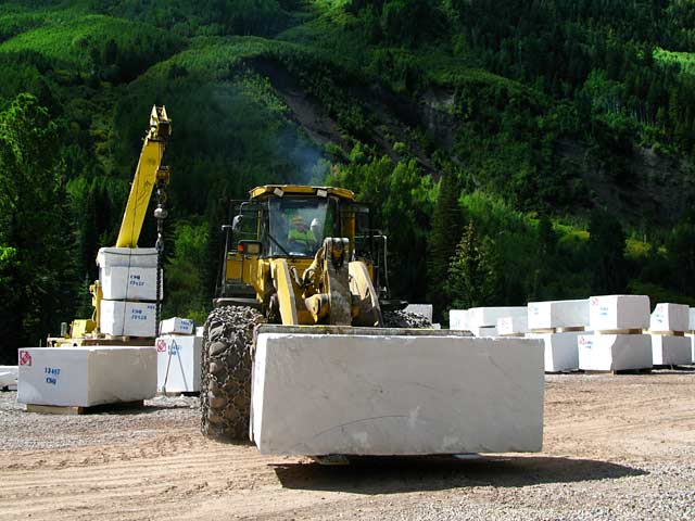 Marble Colorado Quarry Site