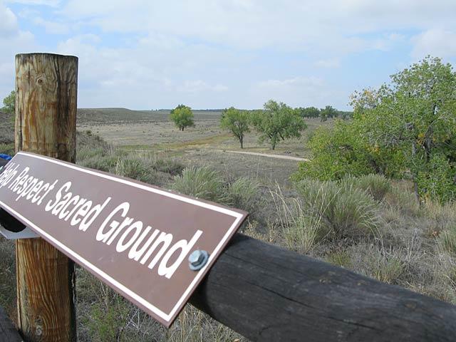 Sand Creek Massacre Site Colorado