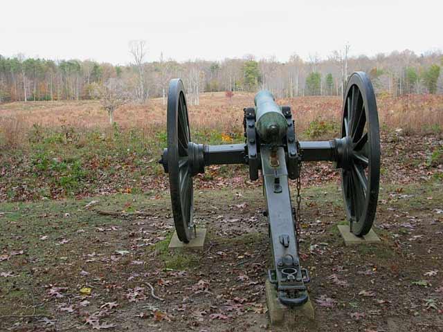 Spotsylvania Fredericksburg Civil War Battlefield Canon