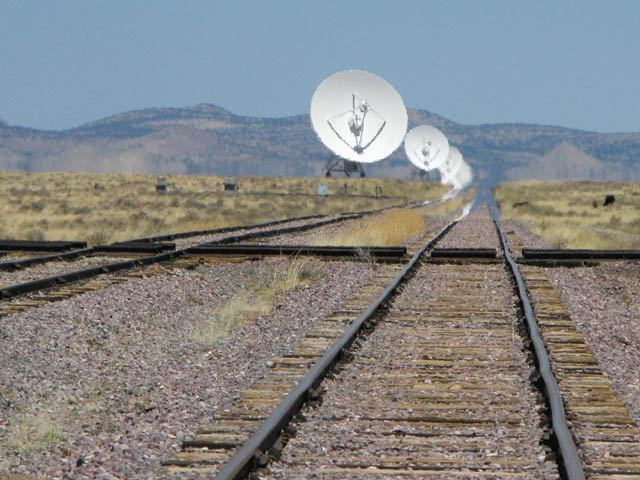 Vey Large Array Tracks