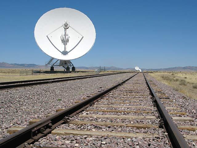 VLA Very Large Array Tracks