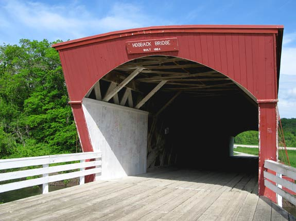 Hogback Covered Bridge, Winterset Iowa