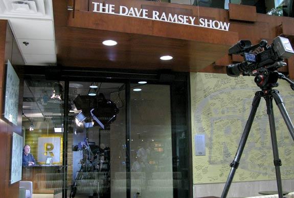 Dave Ramsey, show, live, broadcast, Nashville