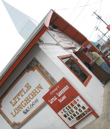 Austin, chickenshit bingo, Ginny's Little Longhorn Saloon