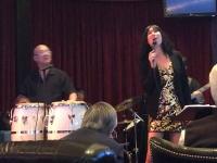 Joey Ugarte and Rita Lim at El Cortez