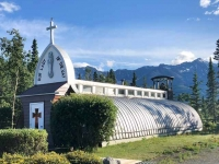 Our Lady of the Way, Quansut Hut Church, Haines Junction