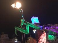 Las Vegas Conatainer Park Fremont Street Experience on Halloween