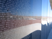 Wall Replica at Truth or Consequences Vietnam Memorial