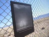 Graphics at Trinity Site Depict First Atomic Bomb Test