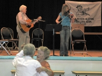 Dancing at the T or C Fiddle Fest