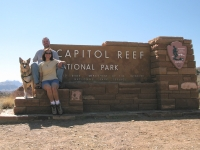 Jerry makes it to Capitol Reef National Monument