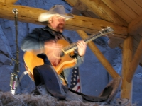 Michael Martin Murphy sings lone cowboy concert at BBQ Station in Lake City, CO