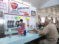 Date Shakes at Shields Date Farm, Indio CA