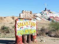 Salvation Mountain at Slab City