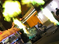 Fremont Street Las Vegas Halloween 2013 Fire Show