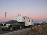 Marfa Lights Viewing Station Free RV Boondocking