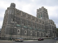 The U.S. Military Academy Chapel at West Point