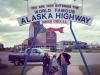 Alaska Highway Mile 0 Dawson Creek, BC