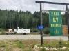 Boondocking at Jade City on Stewart Cassiar Highway