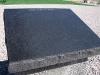 Blank Iraq Plaque on Veterans Park War Walk